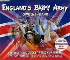 'Come On England' Barmy Army CD Cricket Single BNIB