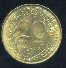 20 centimes 1970    marianne  SUP