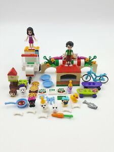 Lego Friends Minifigure Accessories Animals Emma Oliver Dog Rabbit Duck Figure