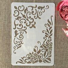 Layering DIY Stencils Wall Painting Scrapbook Coloring Embossing Decorative Card