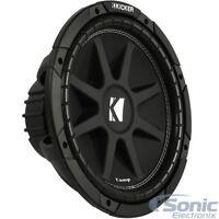 "(2) KICKER 600W PAIR C124 12"" Single 4 ohm Comp Series Car Audio Subwoofers"