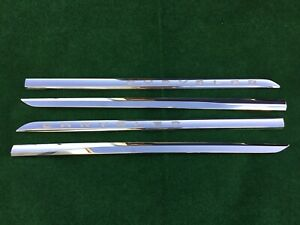 2012-2016 Chrysler Town And Country Exterior Door Trim Molding Chrome OEM