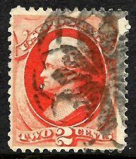 "SC #178 ""NYFM-31"" Fancy Cancel SON 2 Cent Jackson Banknote 1875-1879 US 13C37"