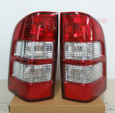 FIT 06 07 08 09 FORD RANGER PK PJ XL XLT Hi-lander TAIL LIGHTS LAMP REAR RED UTE