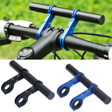 Bike Flashlight Holder Handlebar Bicycle Accessories Extender Mount Bracket TiBA