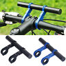 Bike Flashlight Holder Handlebar Bicycle Accessories Extender Mount Bracket T SO