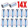 14Pcs CR123 TrustFire 3V Lithium Batteries (CR123A, DL123, 123, EL123, CR17345)