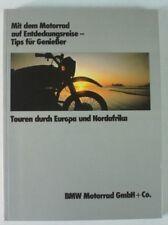 Mit dem Motorrad auf Entdeckungsreise Tips für Genießer Europa Nordafrika B7121