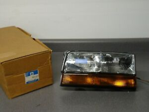 New NOS OEM GM Headlight Lamp 16512671 1991-1993 Buick Park Avenue Ave Export