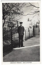 GREENWICH MERIDIAN Zero Longitude, RP Postcard Postally Used 1951
