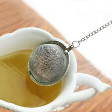 1X Tea Ball Stainless Steel Sphere Mesh Strainer Filter Spice Infuser Soup