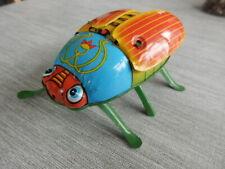 Rare NOGUCHI (Japan) Tinplate Wind-up Beetle.1950's.
