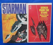 LOT of 2 Sci Fi Paperbacks D13 James Nelson Coleman Stuart J. Byrne VG