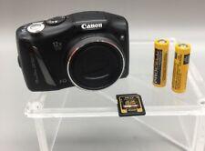 Canon PowerShot SX150 IS 14.1MP Digital Camera - Black + 4 GB Memory - F17