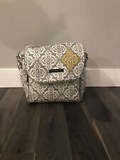 Petunia Pickle Bottom Backpack Boxy Diaper Bag  With Straps & Matching Clutch