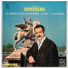 """Georges BRASSENS       Les trompettes de la renomée   7"""" EP 45 tours"""