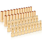 20Pairs 4mm Banana Bullet Connector Plug Male Female RC Battery Brushless Motor