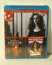 When a Stranger Calls/Happy Birthday to Me (Blu-ray Disc, 2013) NEW REGION A