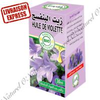 Huile de Violette BIO 100% Pure & Naturelle 30ml Violet Oil, Aceite de Violeta