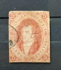 ARGENTINA . 1864-7 , sello nº 8 . 175€
