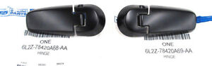 (2) OEM 2006-2010 Ford Explorer Mountaineer Rear Lift Gate Window Glass Hinges