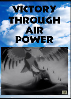 Victory Through Air Power DVD - Rare WWII cartoon propaganda film by Walt Disney