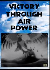 Victory Through Air Power DVD - Rare WWII cartoon propaganda film by Walt Disney