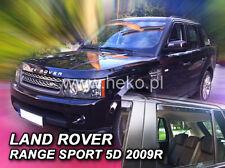 HEKO Windabweiser LAND ROVER RANGE ROVER SPORT 5türig 2005--> 4-teilig - 27225