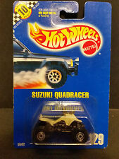 1990 Hot Wheels #129 : Suzuki Quadracer - 9582