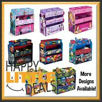 Multi-Bin Toy Organizer by Delta Children - Mickey/Minnie/Spider-Man & MORE!