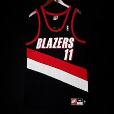 100% Authentic Arvydas Sabonis Nike Blazers NBA Jersey Size 40 M - pippen