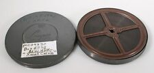 "16MM 250FT OUT OF400FT BLACK   WHITE FILM ""CHRISTMAS CAROLS"" IN METAL CASE"