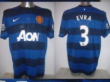 Manchester United EVRA Nike Jersey Shirt XL Top Soccer Football France Trikot