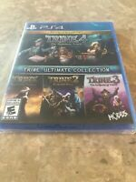 Trine Ultimate Collection 1+ 2+ 3+ 4 / PS4, PlayStation, 2019 - BRAND NEW SEALED