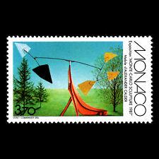 Monaco 1987 - Monte Carlo Sculpture Exhibition Art - Sc 1576 MNH