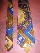 cravate  carnaval de venise soie