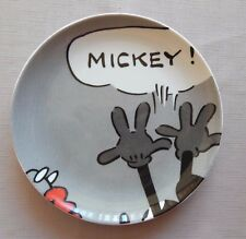 Souvenir of Disney Paris, Mickey Mouse Decorative Ceramic Plate