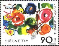 Schweiz 1380 (kompl.Ausg.) gestempelt 1988 Kunst