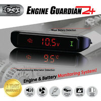 ENGINE GUARDIAN EG2+ WATCHDOG COOLING FAN CONTROL PROGRAMABLE RELAY VOLT METER