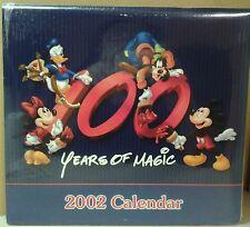 Disney 100 Years of Magic 2002 Calendar in Original Shrink Wrap