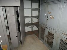 More details for large job lot of industrial heavy duty metal shelving/racking & storage cabinets