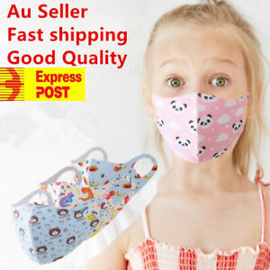 kids mask Washable children  Face Mask Protective Reusable cotton fabric