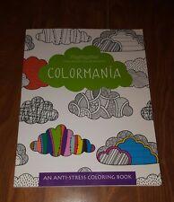 "Calm Waters Studios ""Colormania"" anti-stress adult coloring book"