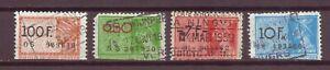 Belgium, Revenue Stamps, circa 1940s, 1950s, Used , OLD