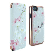 Official Ted Baker Ss17 Brook Mirror Case Fits iPhone 7 & 6/6s Oriental Blossom