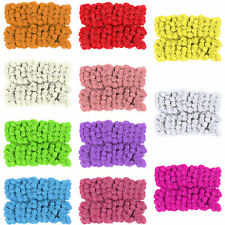 144Pcs Artificial Foam Mini Roses Head Small Flowers Wedding Home Party Decor US