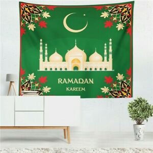 Ramadan Decoration Wall Tapestry Cloth Hanging Decoration Islamic Muslim Party