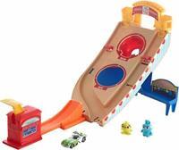 Hot Wheels and Disney Pixar Buzz Lightyear Character Car Play Set, ,