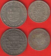 Sao Tome and Principe set of 2 coins: 5 - 20 escudos 1971