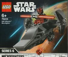 LEGO STAR WARS 75224 MICROFIGHTER SERIE 6 SITH INFILTRATOR 1  minifig New Sealed